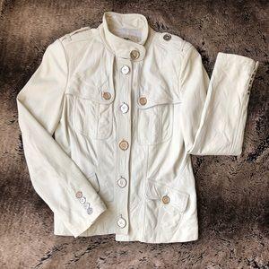 Authentic Burberry Lambskin Jacket size 4
